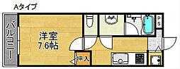 ラフィーネ聖天坂[2階]の間取り