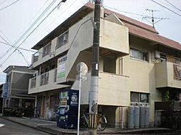 宮崎県宮崎市西高松町の賃貸アパートの外観