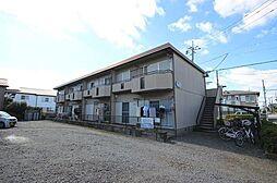 埼玉県越谷市千間台西6丁目の賃貸アパートの外観
