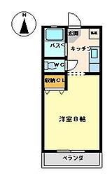 セントニコラスマンションズ[1階]の間取り