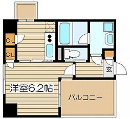 フェリーチェ梅田北[4階]の間取り