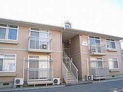 新潟県新発田市中曽根町3丁目の賃貸アパートの外観