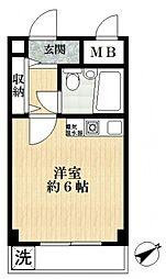 一之江マンション[2階]の間取り