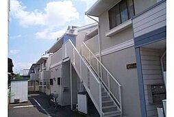 京都府京都市北区鷹峯黒門町の賃貸アパートの外観