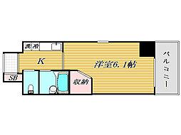 アクシーズグランデ川口西III[4階]の間取り