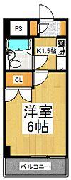 パレドール朝霞[4階]の間取り
