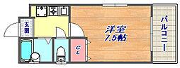 岡本南マンション[304号室]の間取り