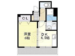 東山第一ビル[4階]の間取り