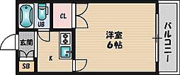 ラ・レジダンス・ド・江坂[8階]の間取り