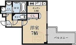 アスヴェル京都四条[5階]の間取り
