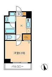 Crest Mabashi[1階]の間取り