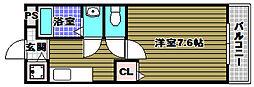 大阪府和泉市唐国町1の賃貸アパートの間取り