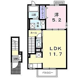 メゾン七番館[2階]の間取り