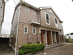 福岡県宗像市田熊2丁目の賃貸アパートの外観