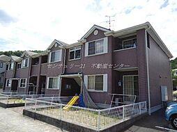 岡山県岡山市北区御津野々口の賃貸アパートの外観