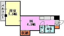 レジデンス東雲 (東雲本町)[306号室]の間取り