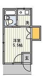 第9シンエイハイム[1階]の間取り