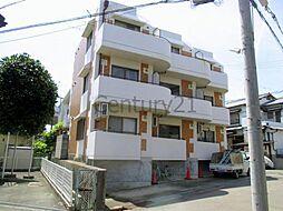 大阪府池田市石橋2丁目の賃貸マンションの外観