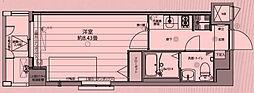東京都板橋区舟渡1丁目の賃貸マンションの間取り