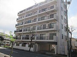 埼玉県東松山市御茶山町の賃貸マンションの外観