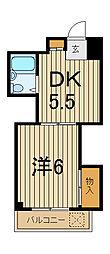 ラス−ルイナV[3階]の間取り