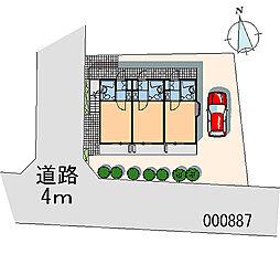 東京都府中市西原町3丁目の賃貸アパートの間取り