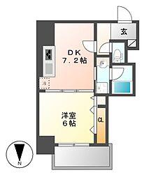 笹島アイサンメゾン[8階]の間取り