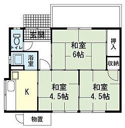 [一戸建] 静岡県駿東郡清水町徳倉 の賃貸【/】の間取り