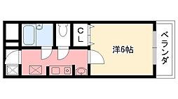 ステラハウス4-100[115号室]の間取り