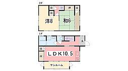 [一戸建] 兵庫県加古川市加古川町平野 の賃貸【/】の間取り