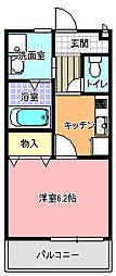 I−HOUSE[103号室]の間取り