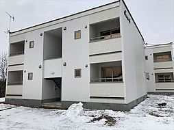 北海道河東郡士幌町字士幌の賃貸アパートの外観