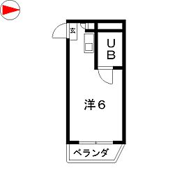 プレスイン城下[2階]の間取り