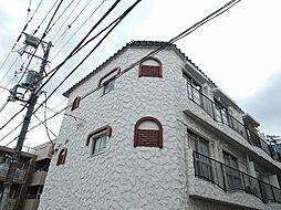 東京都中野区本町3の賃貸マンションの外観