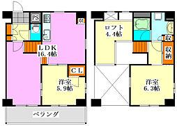 Lo・house Style[206号室]の間取り