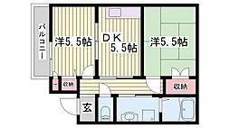 東二見駅 5.5万円