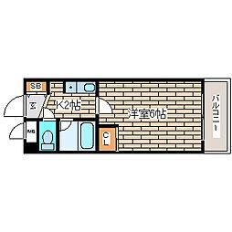 兵庫県神戸市須磨区大田町5丁目の賃貸マンションの間取り