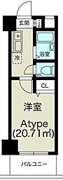 ノルデンハイム淡路[6階]の間取り