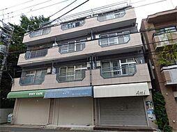 東京都調布市若葉町1丁目の賃貸マンションの外観