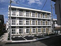 東京都昭島市朝日町2の賃貸マンションの外観