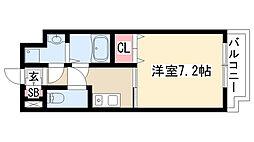 愛知県名古屋市天白区原2丁目の賃貸マンションの間取り