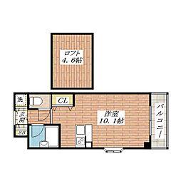グリーンハイツ豊川 I[3階]の間取り