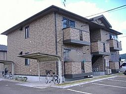 グリーンベルズ D棟[1階]の外観
