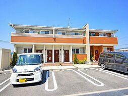 奈良県奈良市南京終町4丁目の賃貸アパートの外観