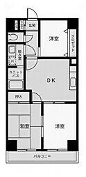 パークハイム渋谷[9階]の間取り