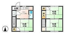 神明荘[1階]の間取り