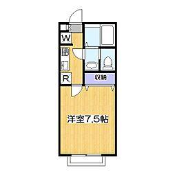 リリックコート・SERENA 6[2階]の間取り