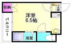 ユーライフ春日原[3階]の間取り