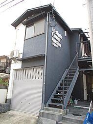 京都府京都市山科区上野寺井町の賃貸アパートの外観