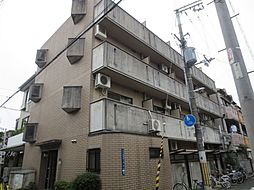 大阪府大阪市東住吉区山坂4丁目の賃貸マンションの外観